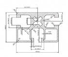 Profil Solar Aluminiu 45 x 32x1,65 PTW 003 1,306 kg/ ml - 3100 mm/ bara