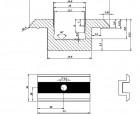 Clema centru PTW CL 01
