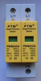 Descarcator supratensiune  (arestor) PTW-M24/2/20