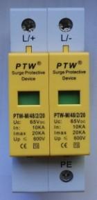 Descarcator supratensiune  (arestor) PTW-M48/2/20