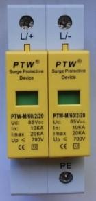 Descarcator supratensiune  (arestor) PTW-M60/2/20