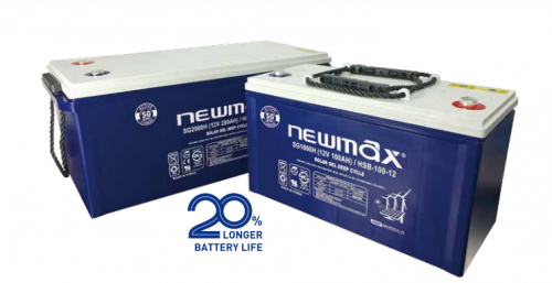 Baterie NEWMAX SG Plus 12-80