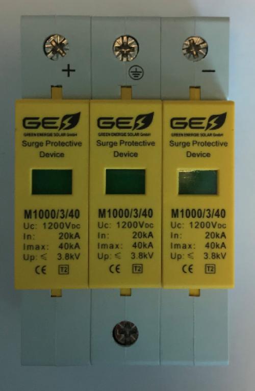 Descarcator supratensiune  GES-M 1000/3P/40