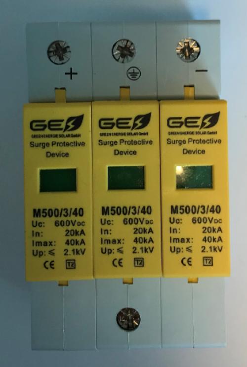 Descarcator supratensiune  GES-M 500/3P/40