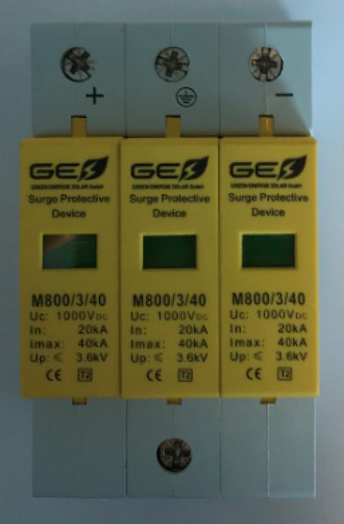 Descarcator supratensiune  GES-M 800/3P/40
