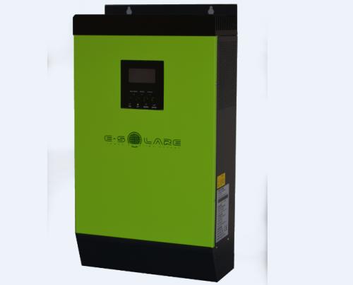 Invertor-Charger Hibrid MPPT (E-SOLARE) 5KVA / 48V (+80A MPPT - max 4000 Wp - 60/72 cells)