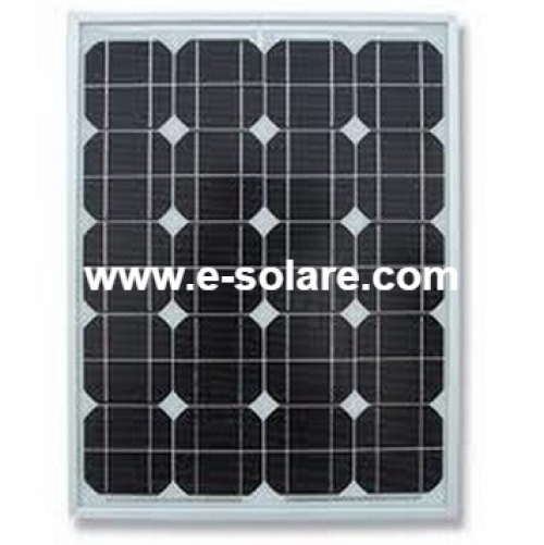 Panou e-Solare 50W Monocristalin