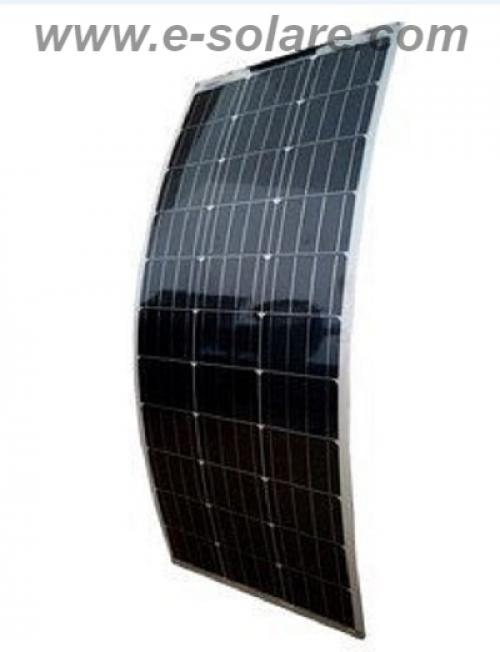 Panou semiflexibil e-Solare 100W Monocristalin