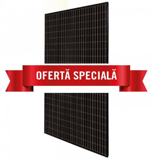 Panou Monocristalin Canadian Solar 305W PERC Half Cells Full Black