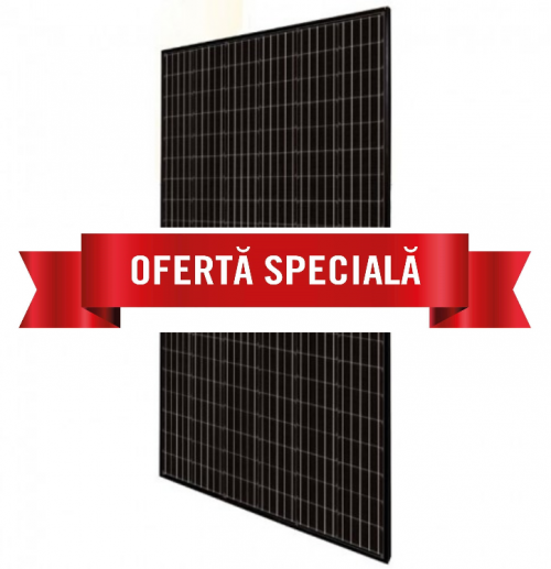 Panouri Monocristaline Canadian Solar 305 PERC Half Cells Full Black (30 buc/palet)
